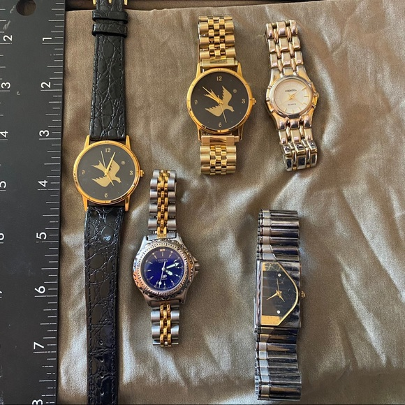 Lot of 5 Vintage Women's / Unisex Watches